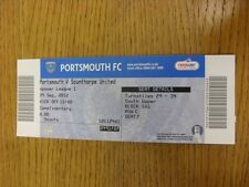 29/09/2012 Ticket: Portsmouth v Scunthorpe United  . Thanks for viewing this ite