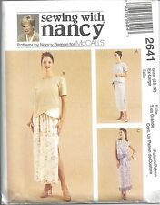McCalls Sewing Pattern # 2641 Misses Two-Piece Dress Size 20-22