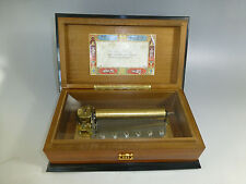 EXC VINTAGE REUGE MUSIC BOX 3 SONGS 72 NOTES FULLY SERVICED ( WATCH THE VIDEO )