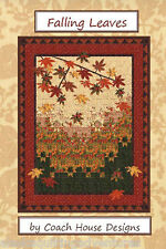Quilt Pattern ~ FALLING LEAVES  ~ by Coach House Designs