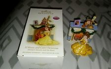 Hallmark Keepsake Ornament Disney's Beauty and the Beast Rare Only 1 on Ebay
