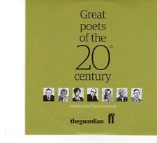 (FP993) The Guardian, Great Poets Of The 20th Century - CD