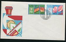 THAILAND STAMP 1975 100th ANNIV. OF TELEGRAPH SERVICE FDC SEE SCAN