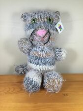 Will Knit For Syrup Plush Cat Handcrafted Cute England Critter Handmade