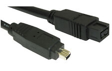 Firewire Lead 9 to 4 pin Cable 1.8 metres IEEE1394 DV out to PC