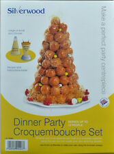 Alan Silverwood Profiterole Dinner Party Croquembouche Set + Recipe - 45023