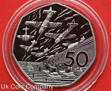 1994 Silver Proof 50p Fifty Pence Coin Royal Mint D Day In Capsule