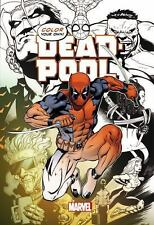 Deadpool Adult Coloring Book, Color Your Own Deadpool PB 2015 Marvel