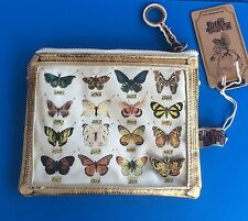 Cosmetic Bag / Large Purse ~ Butterfly - Vintage Style. BNWT