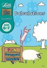 KS 1 ACTIVITY BOOK Calculations Age 6-7 (Letts Fun Farmyard Learning) NEW