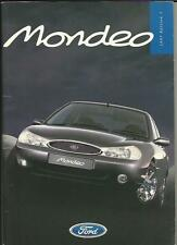 FORD MONDEO FULL SALES BROCHURE OCTOBER 1996 FOR THE 1997 MODEL YEAR