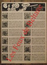 Article Horoscope du 10 au 16 mai 1973,Sondaz MArie Louise  clipping 1973