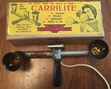 Rare Vintage Malham Carrilite Cine Camera Lighting Set in Original Box