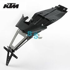 Tidy License Plate Holder Conversion Kit Undertail For KTM 125 200 390 Duke EV