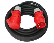 CEE Starkstromkabel 32A 50m H07RN-F 5x6mm² Verlängerungskabel PCE