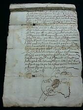 ANTIQUE MANUSCRIPT  1668