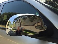 GMC ENVOY 2002 - 2009 TFP CHROME ABS FULL MIRROR COVER SET