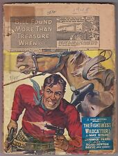 Ace High Western March 1948 Pulp Harry F. Olmsted Joseph Chadwick Ben Frank