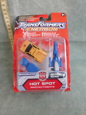 TRANSFORMERS ENERGON HOT SPOT TOY ROBOT