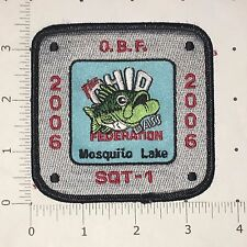 OBF Patch - Ohio Bass Federation - 2006 Mosquito SQT-1