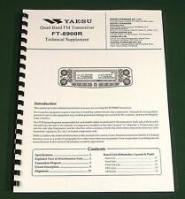 Yaesu FT-8900R Service Manual -  Premium Card Stock Covers & 28 LB Paper!
