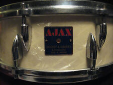 50's AJAX Boosey & Hawkes 5X14 DeLuxe Piper Parallel Action Snare Drum London