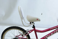 SPECIAL NEEDS BIKE TRIKE SEAT BACK REST SUPPORT IDEAL CHILDREN SMALL ADULT WHITE