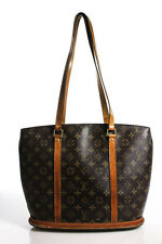 Louis Vuitton Brown Coated Canvas Monogram Baylone Tote Handbag