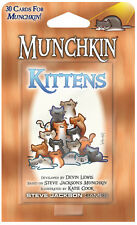 Munchkin Kittens Expansion Card Game Add 30 Cards Steve Jackson Booster SJG 4215