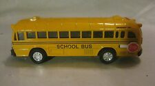 5 Inch Classic Yellow School Bus In A Medium Scale Diecast From Shing Fat  dc859