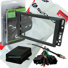 GENERAL MOTORS CAR STEREO DOUBLE/2/D-DIN RADIO INSTALL DASH KIT COMBO GM1598AB