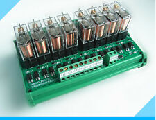 8 relay driver board module module eight Omron PLC 3.3V 5V 12V 24V