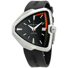 Hamilton Ventura Elvis80 Black Dial Men's Quartz Watch H24551331
