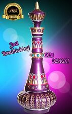 I DREAM OF GENIE JEANNIE BOTTLE METALLIC PLUMB PURPLE! **SPECIAL PRICE! $189