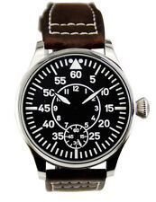 Pilot Navigator mechanical watch 44 mm ss case 6498 Seagull movement.