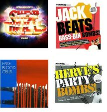 5CDs HERVE - Cheap thrills  fake blood - Cells  jack beats - mixmag BASS MUSIC