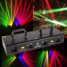 4 Beam Bühnenbeleuchtung Licht DMX RGYP Lasereffekt DJ Laser Lichter 460mW