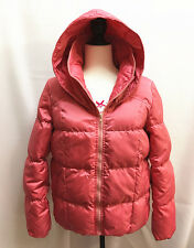 Women's Ladys Casual Hooded Winter Warm Down Parka Jacket Coats Coat SZ L Pink