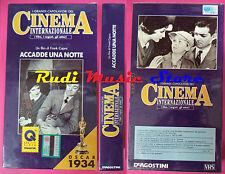 VHS film ACCADDE UNA NOTTE capolavori cinema internazionale SIGILLATA(F91)no dvd