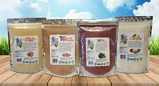 ACAI+GUARANA+CUPUACU+ACEROLA POWDER 4 lb OrganicSuperfood Nature's Pharmacy Pack