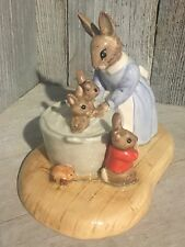 """Bunnykins """"Limited Edition"""" by Royal Doulton """"Bath Time"""""""