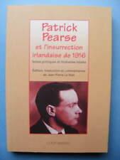 Irlande Patrick Pearse et l'insurrection irlandaise 1916 Ed Coop Breizh 2000 IRA