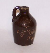 Stoneware Miniature Sample Vinegar Jug 'Jos L Friedman', Paducah, Ky. Vinegars