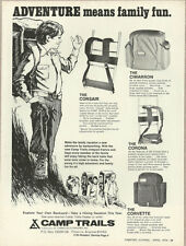 1974 vintage ad, CAMP TRAILS Back Packs! Many Models- 050813