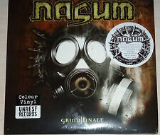 Nasum - Grind Finale Ltd. Edition 4X LP Color Vinyl / Sealed (2012)