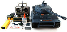 Heng Long 1:16 German Tiger 1 FUMO SUONI RADIO CONTROL RC Model Army War Tank