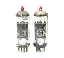 Match 1 pair Burroghs Red top S quality 12BH7 TUBES for McIntosh amplifier
