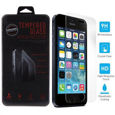 For iPhone 5 5S 5C High Quality Premium Real Tempered Glass Screen Protector