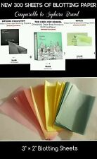 NEW 300 Sheets -  Blotting Paper Comparable to Sephora Brand * NO RESERVE *