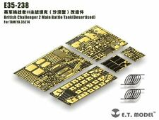 ET Model 1/35 #E35237 British Challenger 2 MBT Detail Up Set for Tamiya 35274